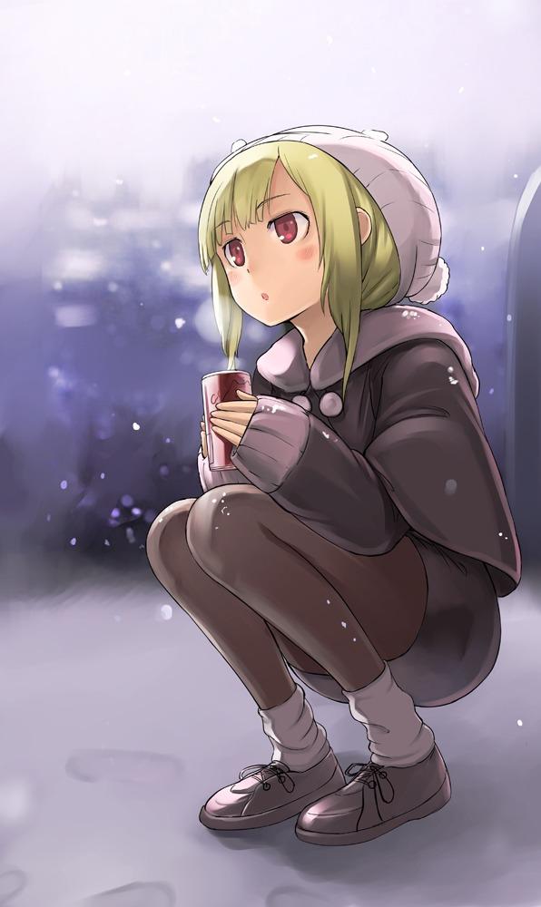 寒い・・・